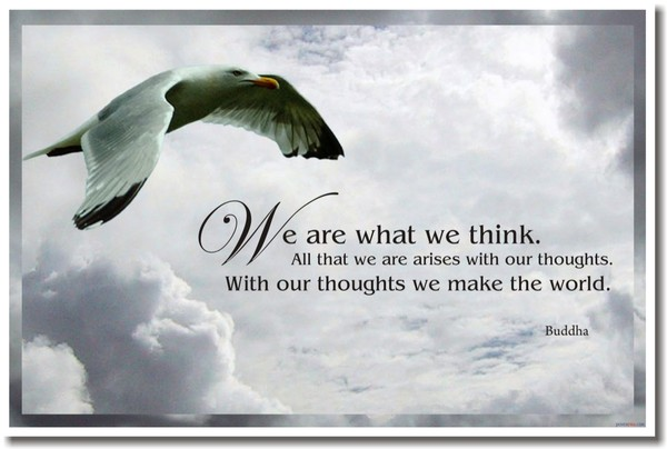 Weekly Word: Thoughts = Things