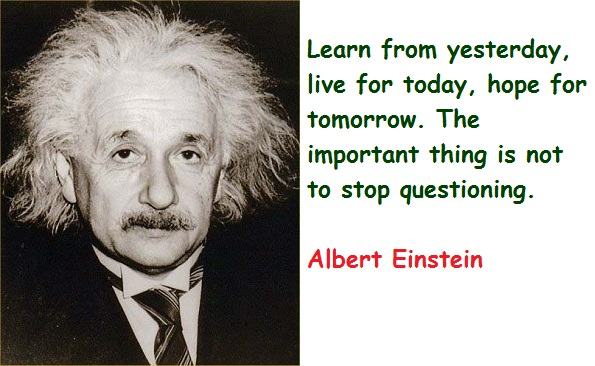 Weekly Word: Albert Einstein