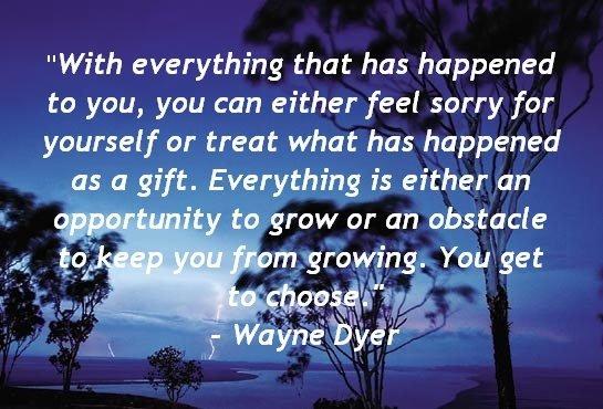 Weekly Word: Wayne Dyer